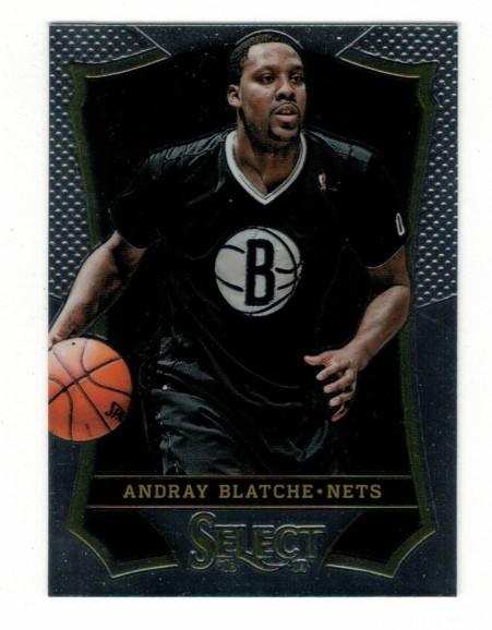 Basketballkarte - ANDRAY BLATCHE - Panini - Select