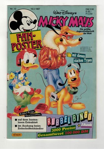 Micky Maus 1987 Nr. 13 / 19.03.1987