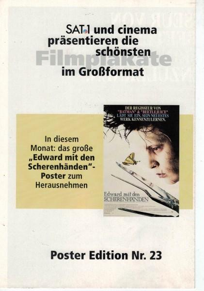 Cinema Poster Edition Nr. 23 - Edward mit den Scherenhänden