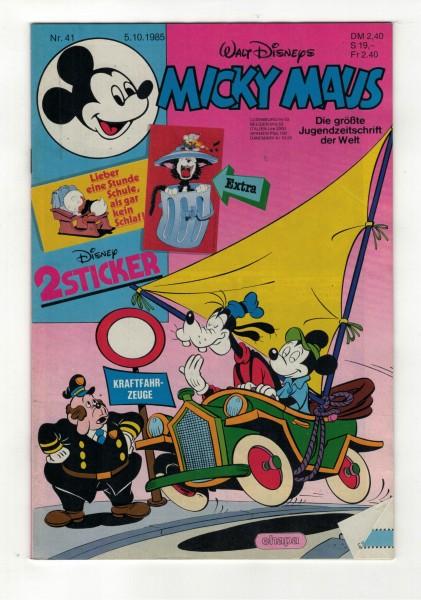 Micky Maus 1985 Nr. 41 / 05.10.1985