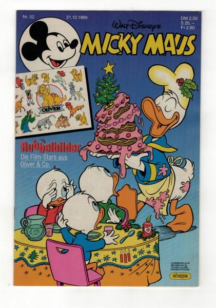 Micky Maus 1989 Nr. 52 / 21.12.1989
