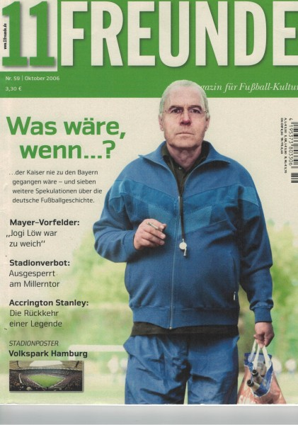 11 Freunde - Heft Nr. 059 - 10 Oktober 2006