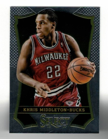 Basketballkarte - KHRIS MIDDLETON - Panini - Select