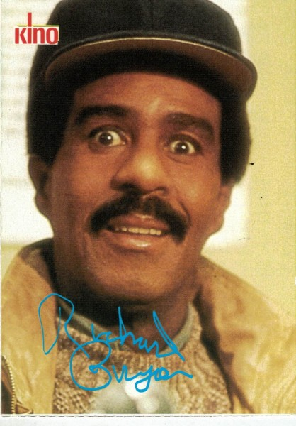 Kino-Autogrammkarte - Richard Pryor