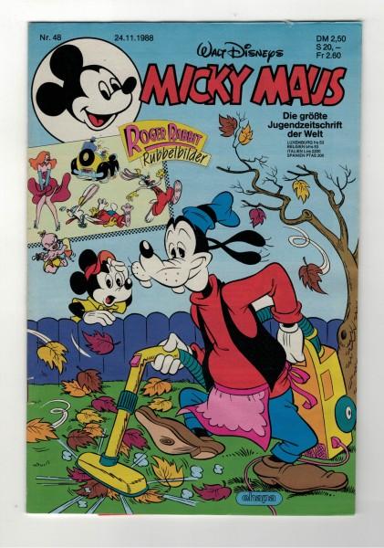Micky Maus 1988 Nr. 48 / 24.11.1988