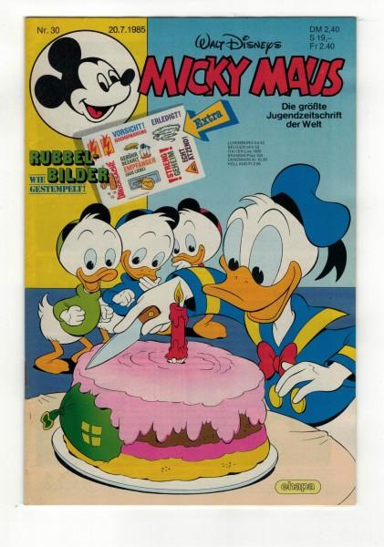 Micky Maus 1985 Nr. 30 / 20.07.1985