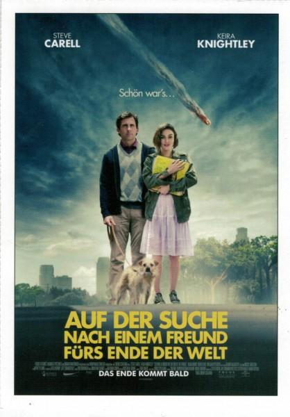"""Cinema Filmkarte """"Auf der Suche nach einem Freund fürs Ende der Welt"""""""