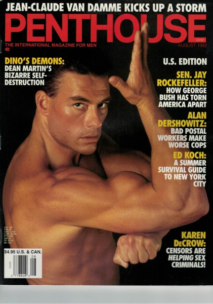 Penthouse US Edition 1992-08 August