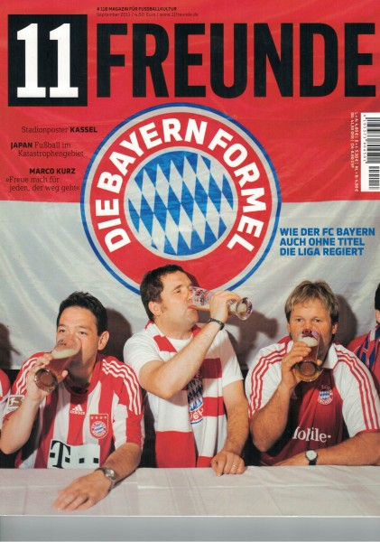 11 Freunde - Heft Nr. 118 - 09 September 2011