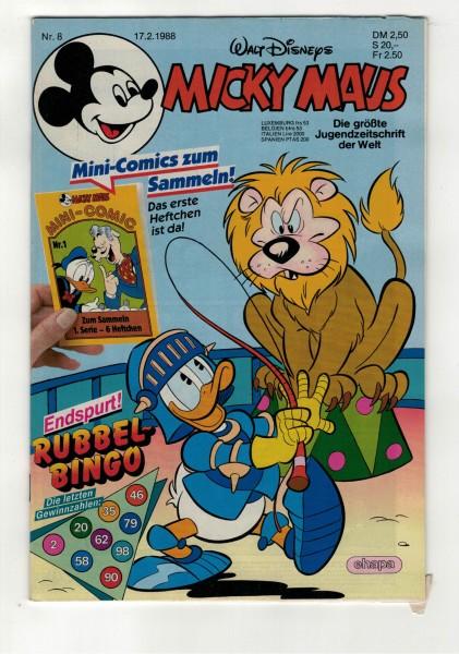 Micky Maus 1988 Nr. 08 / 17.02.1988