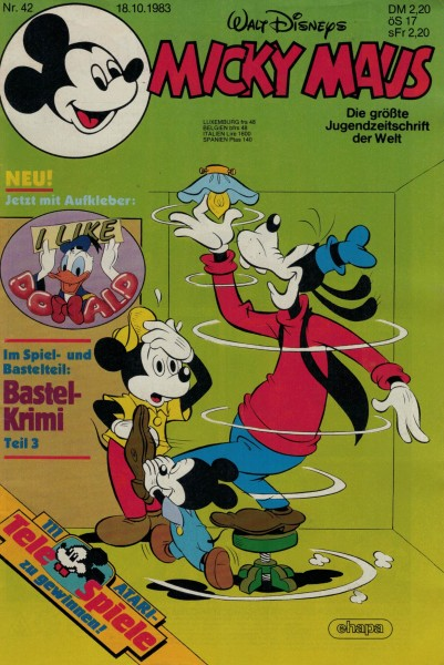 Micky Maus 1983 Nr. 42 / 18.10.1983
