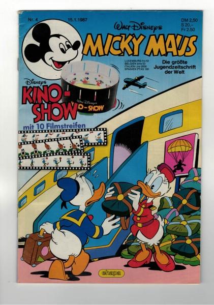 Micky Maus 1987 Nr. 04 / 15.01.1987