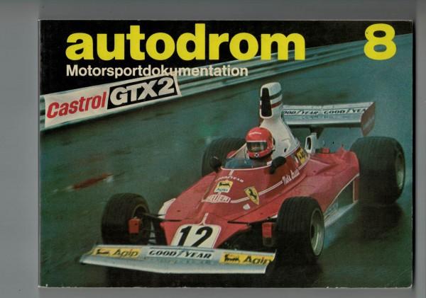autodrom 08 - Motorsportdokumentation Ausgabe 1976