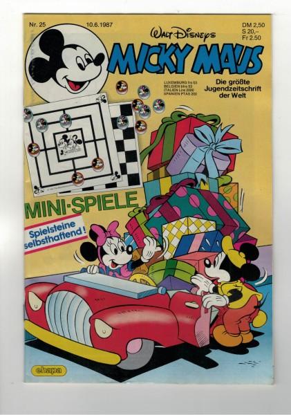 Micky Maus 1987 Nr. 25 / 10.06.1987