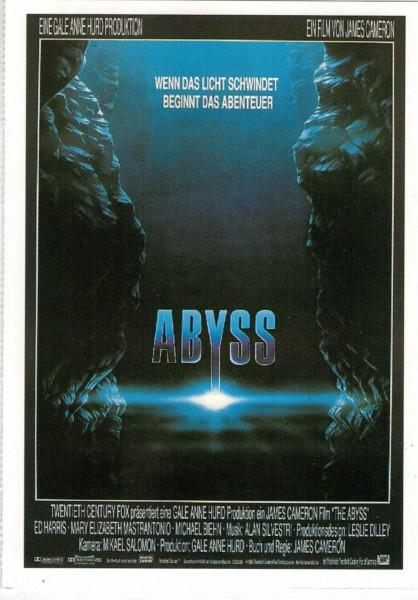 """Cinema Filmkarte """"Abyss"""""""