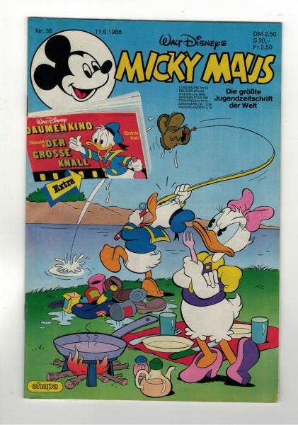 Micky Maus 1986 Nr. 38 / 11.09.1986