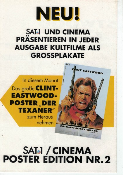 Cinema Poster Edition Nr. 02 - Der Texaner