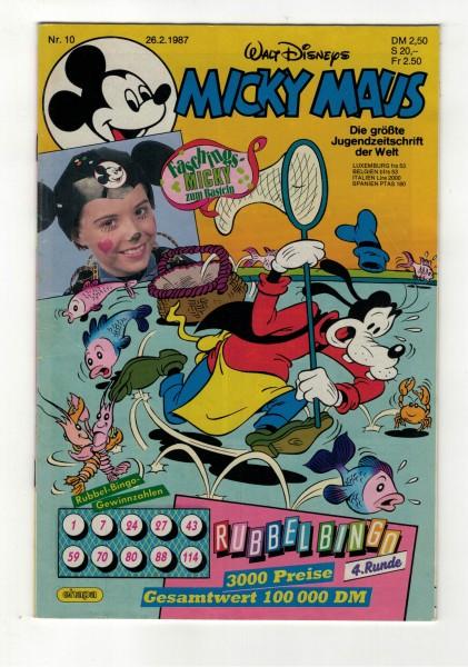 Micky Maus 1987 Nr. 10 / 26.02.1987