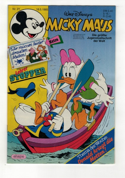 Micky Maus 1985 Nr. 21 / 18.05.1985