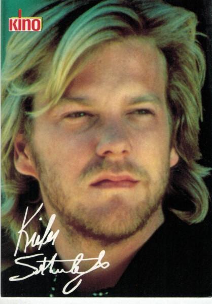 Kino-Autogrammkarte - Kiefer Sutherland