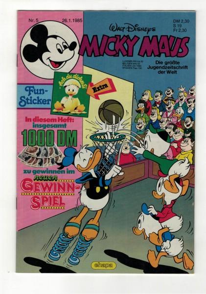 Micky Maus 1985 Nr. 05 / 26.01.1985