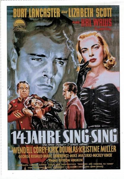 """Cinema Filmkarte """"14 Jahre Sing-Sing"""""""