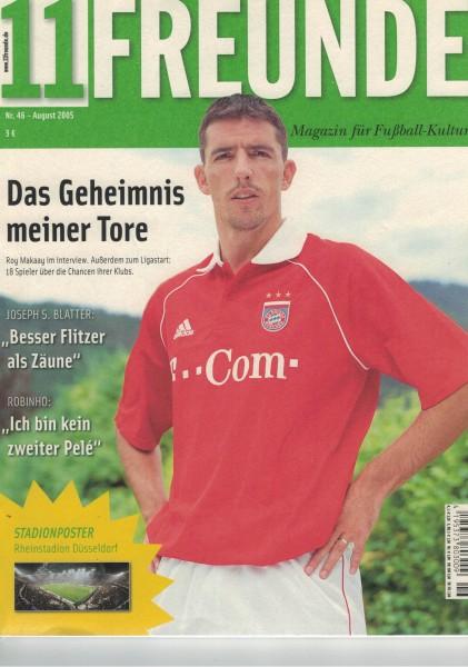 11 Freunde - Heft Nr. 046 - 08 August 2005