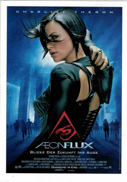 "Cinema Filmkarte ""Aeon Flux"""