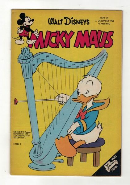 Micky Maus 1963 Nr. 49 / 07.12.1963