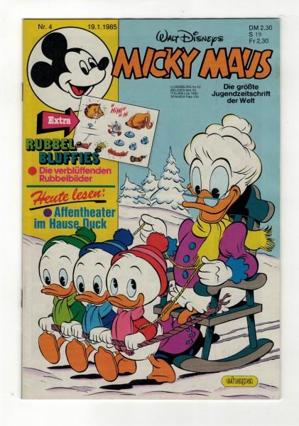 Micky Maus 1985 Nr. 04 / 19.01.1985