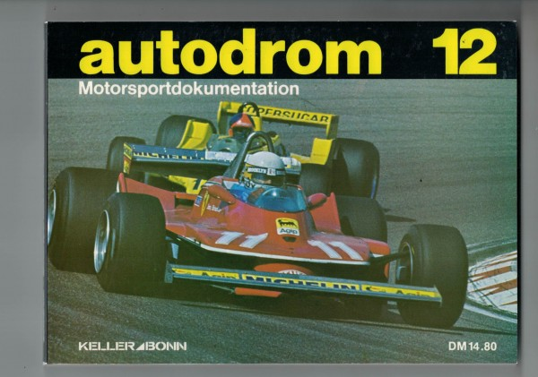 autodrom 12 - Motorsportdokumentation Ausgabe 1980