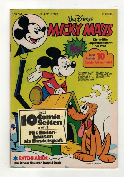 Micky Maus 1976 Nr. 04 / 21.01.1976