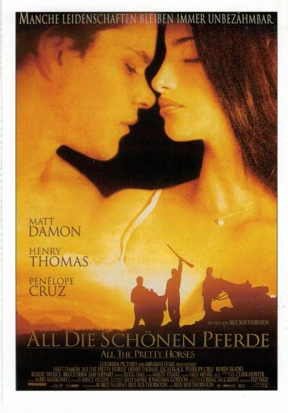"""Cinema Filmkarte """"All die schönen Pferde"""""""