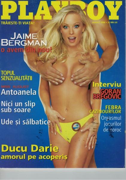 Playboy Rumänien 2000-08 August