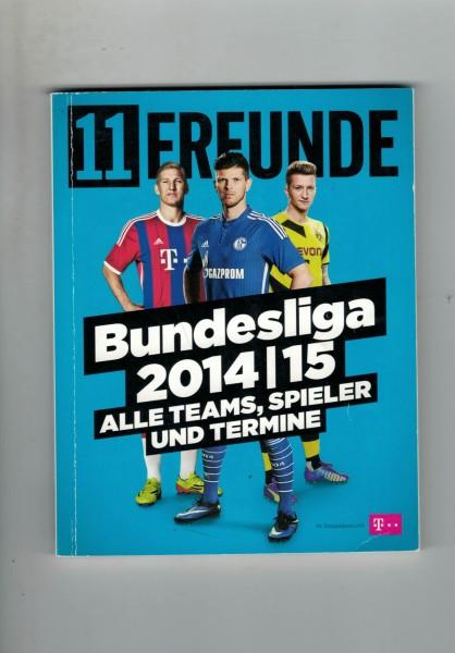 11 Freunde - Bundesliga Planer 2014/15