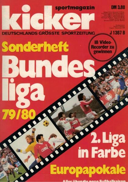 Kicker Sonderheft Bundesliga 1979/80
