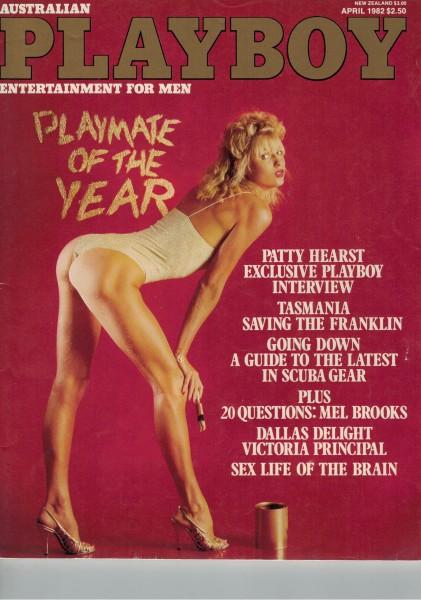 Playboy Australien 1982-04 April