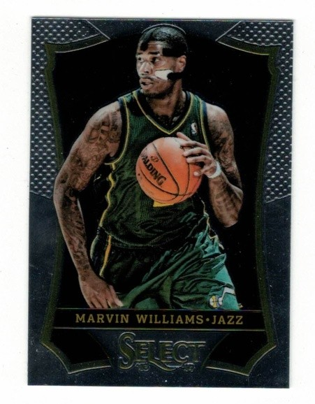 Basketballkarte - MARVIN WILLIAMS - Panini - Select