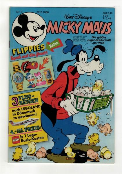 Micky Maus 1986 Nr. 09 / 22.02.1986