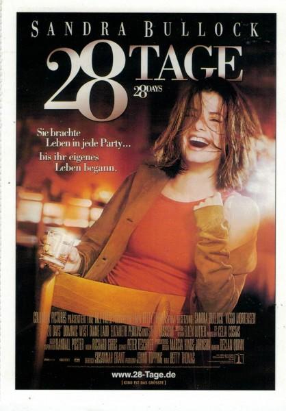 """Cinema Filmkarte """"28 Tage"""""""