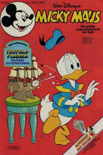 Micky Maus 1983 Nr. 32 / 09.08.1983