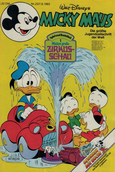 Micky Maus 1983 Nr. 23 / 07.06.1983