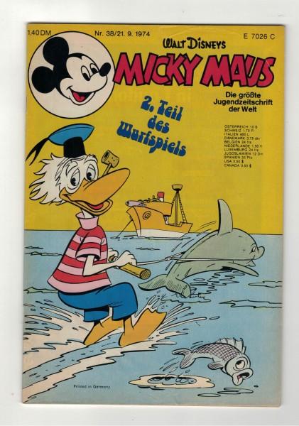 Micky Maus 1974 Nr. 38 / 21.09.1974