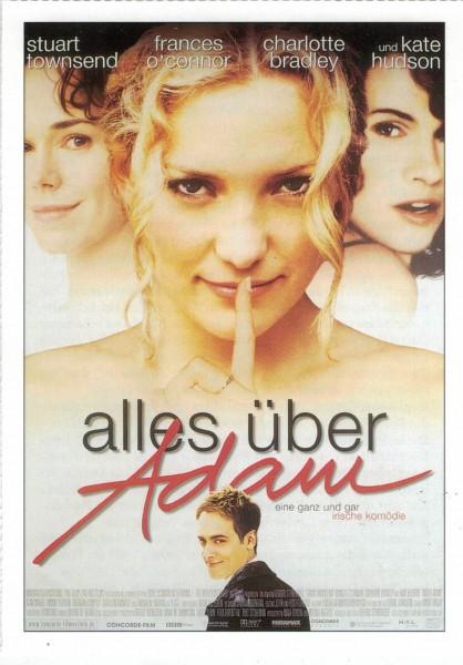 "Cinema Filmkarte ""Alles über Adam"""