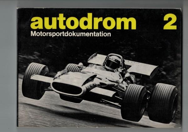 autodrom 02 - Motorsportdokumentation Ausgabe 1970