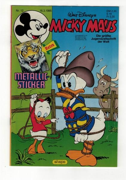 Micky Maus 1985 Nr. 12 / 16.03.1985