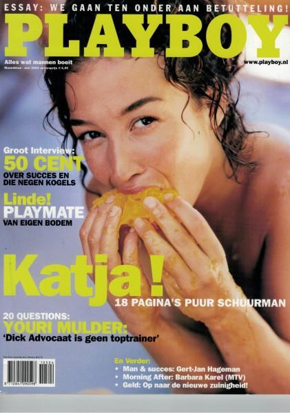 Playboy Niederlande 2004-05 Mai