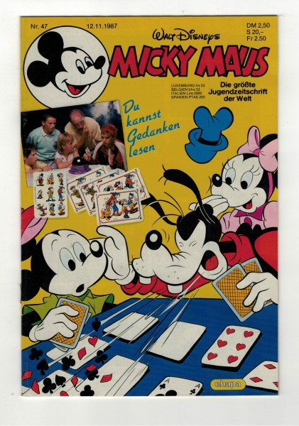 Micky Maus 1987 Nr. 47 / 12.11.1987