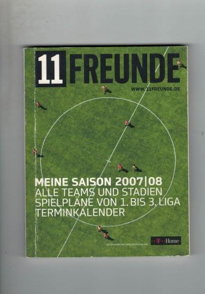11 Freunde - Bundesliga Planer 2007/08