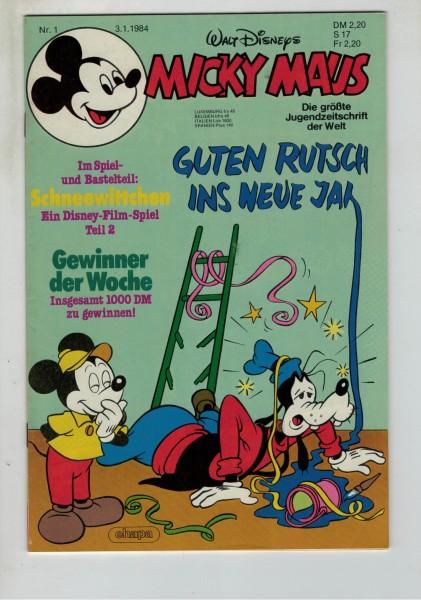 Micky Maus 1984 Nr. 01 / 03.01.1984